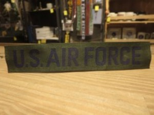 U.S.AIR FORCE Patch OD new