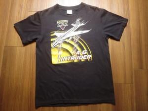 "U.S.NAVY T-Shirt ""A-6 INTRUDER"" sizeL used"