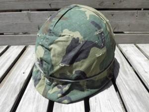 U.S.Helmet M2? & Liner,Cover 1980年代 used