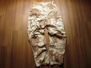U.S.Combat Trousers 6color Desert 1983年 sizeS used