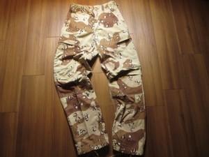U.S.Combat Trousers 6colorDesert 1981年 sizeXS used