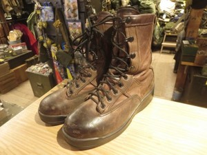 U.S.NAVY? Boots Leather Pilot? size5R used