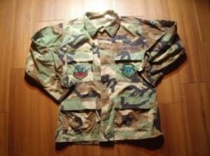 U.S.AIR FORCE Coat Combat 2005年 sizeS-Short