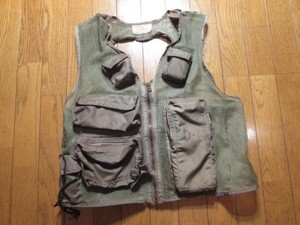 U.S.AIR FORCE Survival Vest 1976年 sizeL used