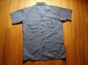 U.S.NAVY Utility Shirt 1980年 sizeS? used