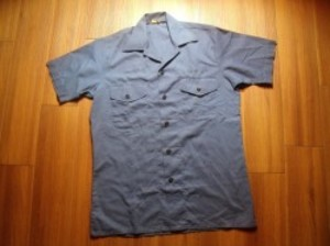 U.S.NAVY Utility Shirt 1980年 sizeM used