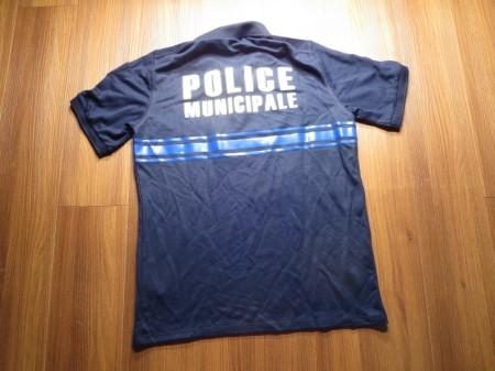 "France polo Shirt ""Police MUnicipale"" sizeM new"