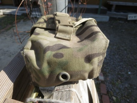U.S.ARMY Pouch First Aid Kit Multicam used