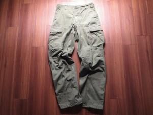 U.S. Trousers OG107 Cotton Poplin 1968年 sizeS used