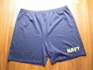 U.S.NAVY Shorts Physical Training (難あり)sizeXL used