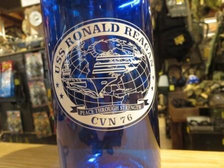 """U.S.NAVY NALGENE Bottle 1000mL """"USS RONALD REAGAN"""""""