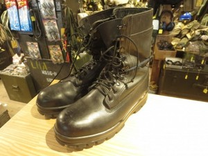 U.S.NAVY Boots Lether Mechanic? size9.5W? used