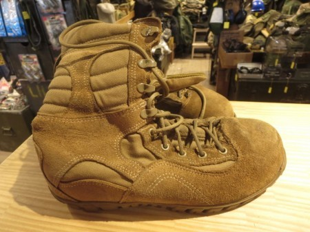 U.S.NAVY Boots Combat size8.5W used