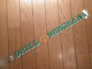 "U.S.ARMY  STICKERS""DRILL SERGEANT"""