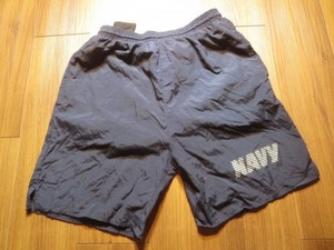 U.S.NAVY Trunks Physical Fitness sizeS used