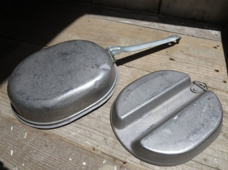U.S.Can Meat Stainless Steel 1959年 used