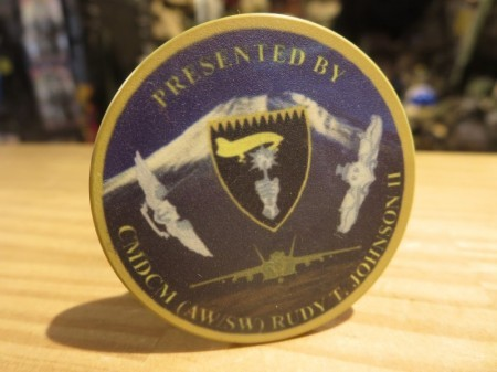 "U.S.NAVY Challenge Coin ""VFA-27 ROYAL MACES"""