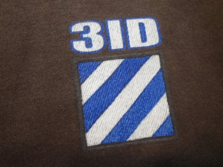 "U.S.ARMY T-Shirt ""3rd Infantry Division""sizeM used"