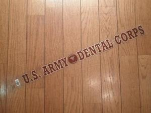 "U.S.ARMY STICKERS""DENTAL CORPS"""
