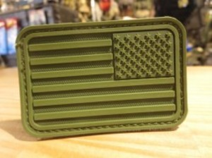 "U.S.Patch ""The Stars and Stripes"" olive"