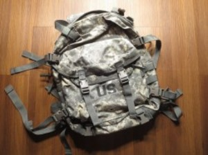 U.S.ARMY MOLLEⅡ AssaultPack Load-Carrying ACU used