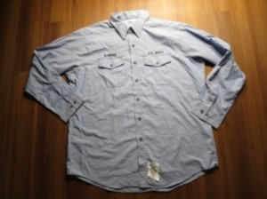 U.S.NAVY Shirt Utility Working 1999年 sizeXXL used