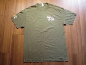 """U.S.MARINE CORPS T-Shirt """"Duathlon&5k"""" sizeL used"""