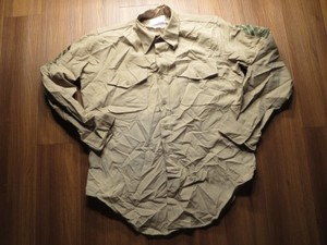 U.S.MARINE CORPS Shirt Kahki size16 used