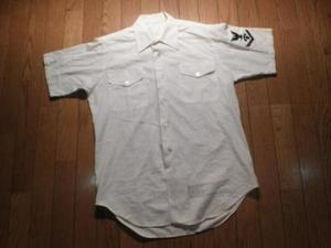 U.S.NAVY Utility Shirt 1977年 sizeM? used