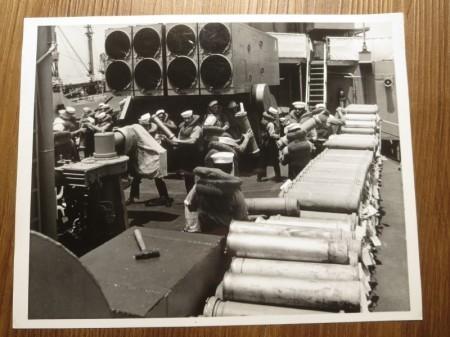 "U.S.NAVY PHOTO ""USS Richard B. Anderson"" 1960年代?"