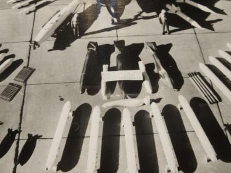 """U.S.NAVY OFFICIAL PHOTO """"A-6A INTRUDER"""" 1962年"""