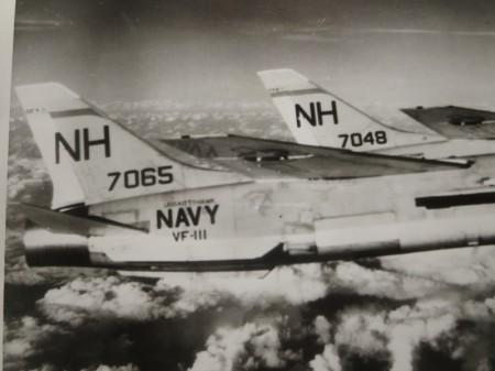 "U.S.NAVY OFICIAL PHOTO ""VF-111 SUNDOWNER"" 1960年代?"
