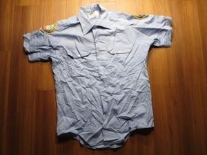"U.S.Utility Shirt ""SANTA MONICA FIRE DEPT"" sizeM"