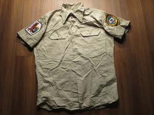 "U.S.Utility Shirt ""BUTTE FIRE CENTER ,CA"" sizeM"
