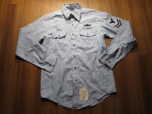 U.S.NAVY Shirt Utility Working 2006年 sizeM used