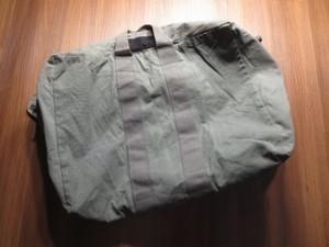 U.S.NAVY Kit Bag Cotton 1980年 used