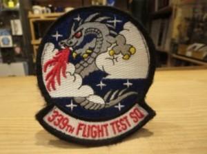"U.S.AIR FORCE Patch ""339th FLIGHT TEST SQUADRON"""