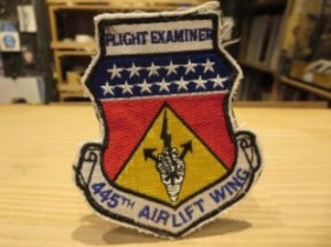 """U.S.AIR FORCE Patch """"445th AIRLIFT WING"""""""