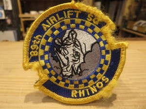 """U.S.AIR FORCE Patch """"89th AIRLIFT SQUADRON"""""""