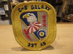 "U.S.AIR FORCE Patch ""337th AIRLIFT SQUADRON"""