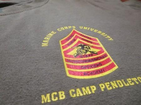 "U.S.MARINE CORPS T-Shirt ""THE GUNNY"" sizeL used"