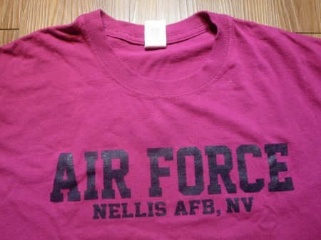 U.S.AIR FORCE T-Shirt sizeL used