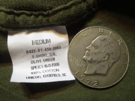 "U.S.NAVY T-Shirt""Aviation Ordnanceman""sizeM used"