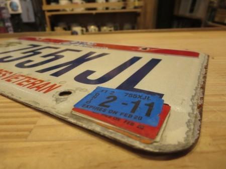 """U.S.MARINE CORPS License Plate """"OHIO"""" used"""