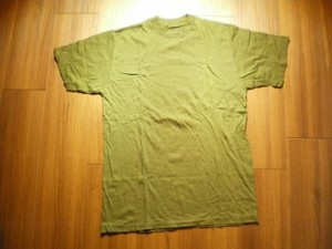 "T-Shirt Olive 100%Cotton ""HOUSTON"" sizeM new?"