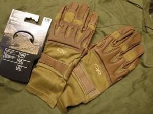 "U.S.Tatical Gloves OR ""ROCKFALL"" sizeL new"