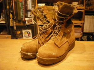 """U.S.NAVY Boots Safety """"BELLEVILLE"""" size5R used"""