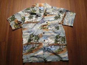 U.S.NAVY Aloha Shirt kids used?