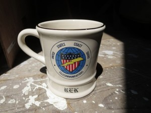 "U.S.COAST GUARD Mug ""TELECOMMUNICATIONS"" used"