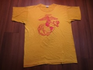 "U.S.MARINE CORPS T-Shirt ""RUSSEL ATHLETIC"" sizeM"